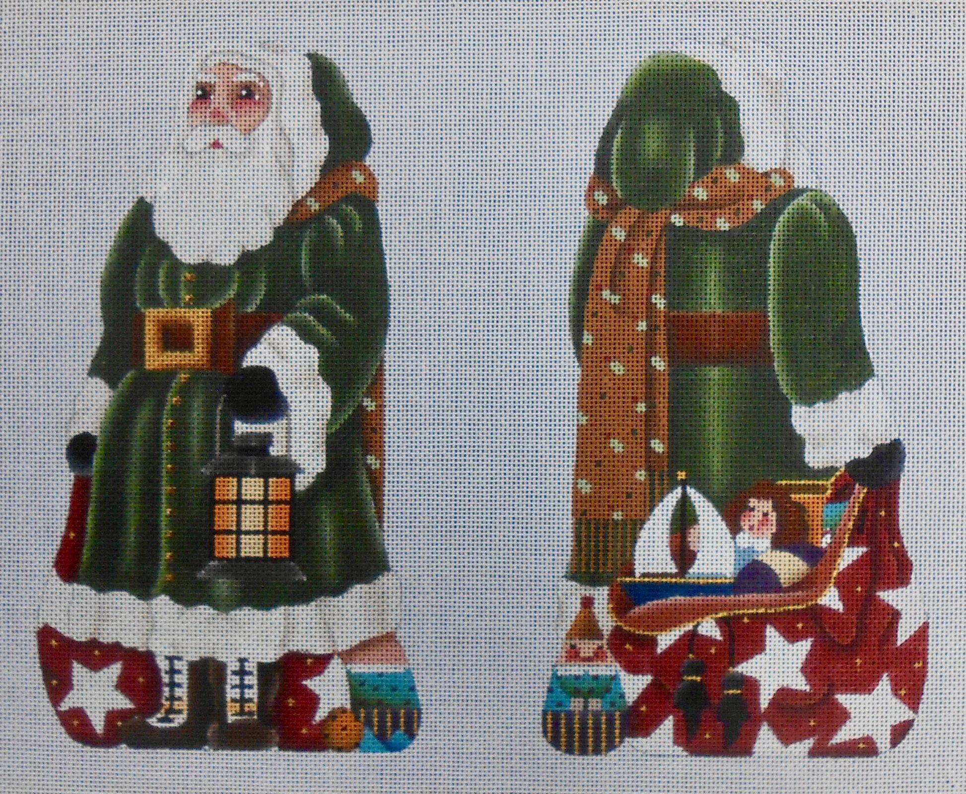 Green Santa Stand up