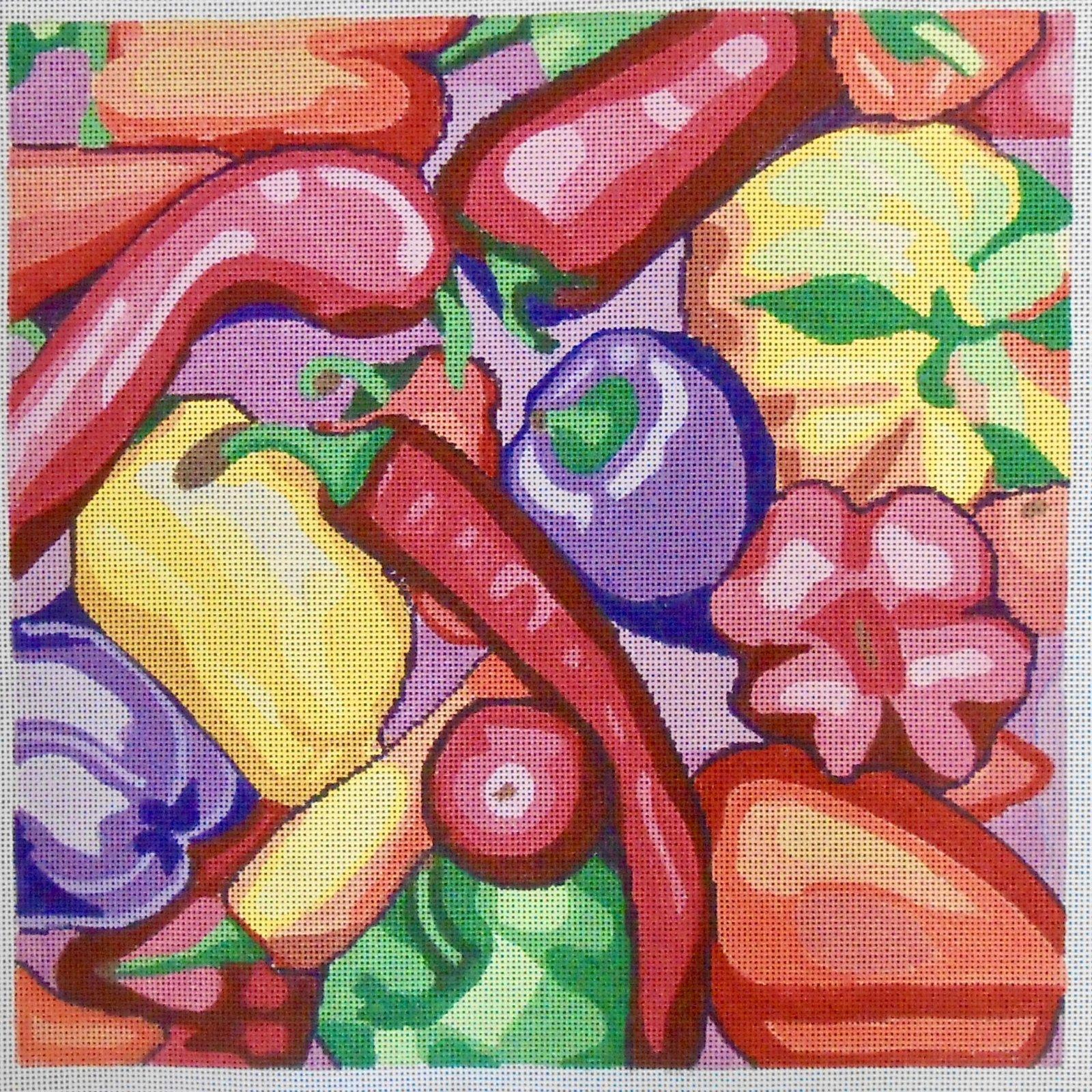 Farmers' Market: Sweet Peppers
