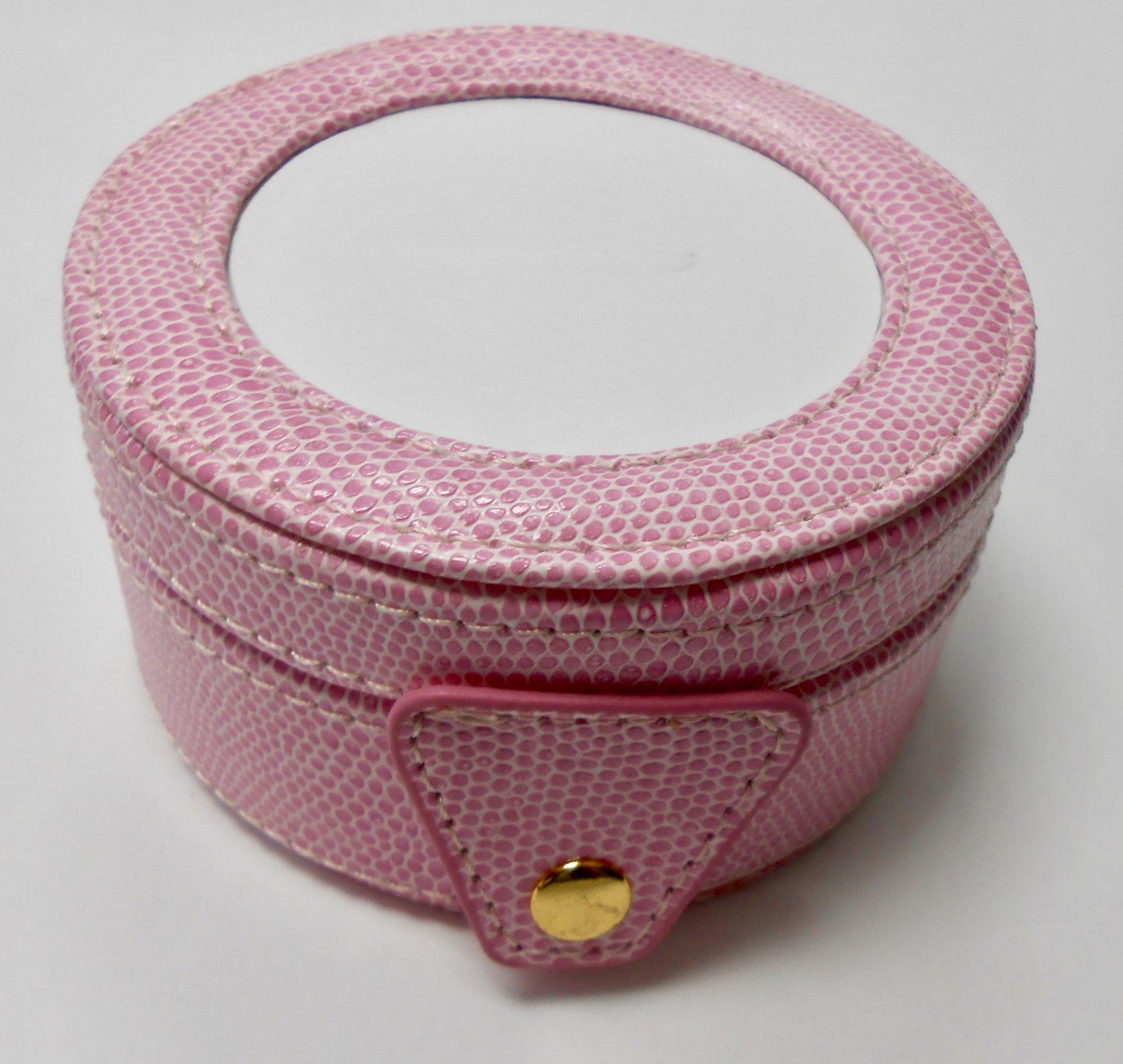 Round Pink Gift Box