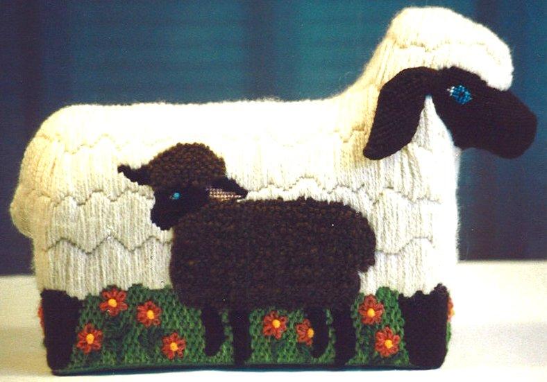Sheep and Lamb Brick