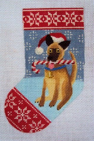 German Shepherd Mini Sock