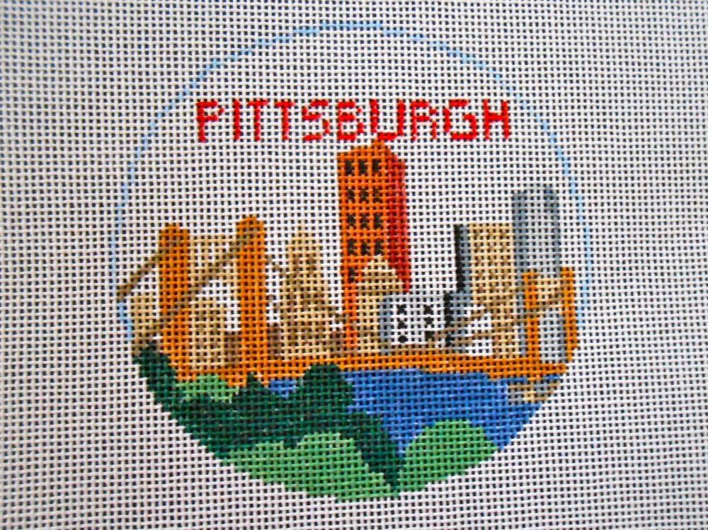Pittsburgh Ornament