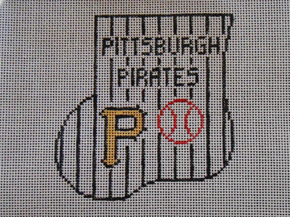 Pittsburgh Pirates Mini Stocking with Baseball