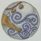 Flying Reindeer Ornament