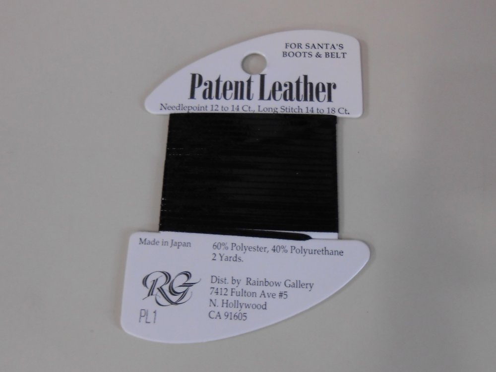 Patent Leather by Rainbow Gallery