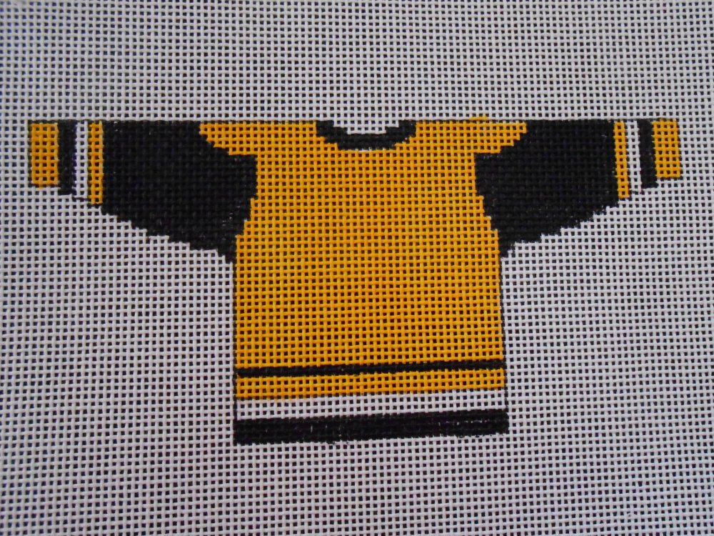 Black and Gold Hockey Shirt