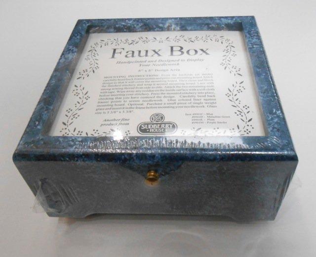 Faux Blue Box