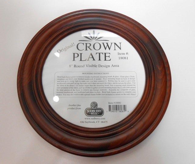 Round Crown Plate - 8