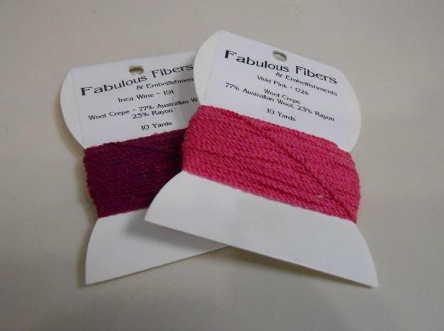 Wool Crepe by Fabulous Fibers