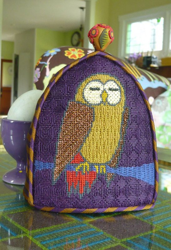 Copperwinged Owl Egg Cozy