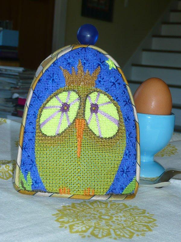 King Owl Egg Cozy