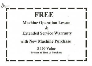 Free Machine Operation Lesson