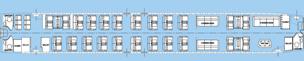 Boeing 727 VIP Seating Chart