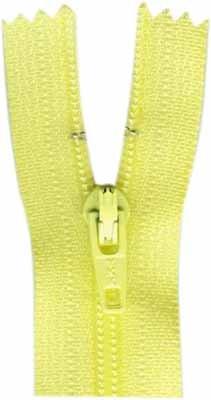 7inch Closed End Zipper - Primrose