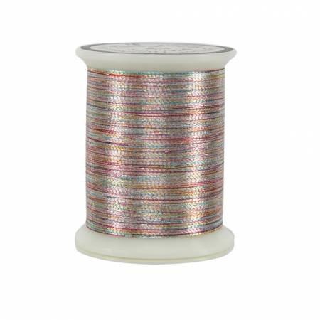 031 Superior Threads - Metallics - Varigated Silver - 500 yds