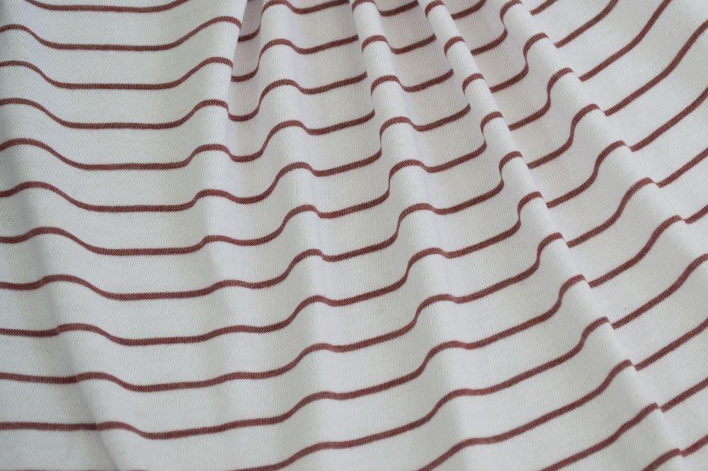 Splendid Rayon Spandex Striped - White/Brown