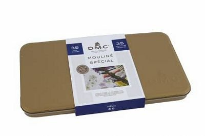 DMC - Collector's Tin - 35 Colors Included