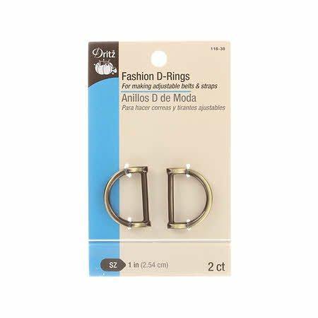 Dritz -  Fashion D-Ring - 1 (2.54 cm)