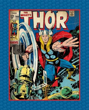 Camelot Fabrics - Marvel The Mighty Thor Panel