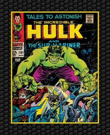 Camelot Fabrics - Marvel The Incredible Hulk Panel