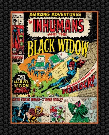 Camelot Fabrics - Marvel Black Widow Panel