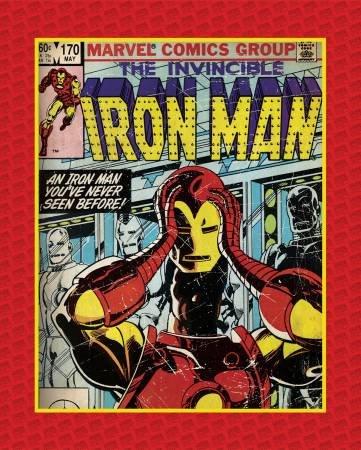 Camelot Fabrics - Marvel Invincible Iron Man Panel