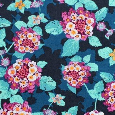 Art Gallery Fabrics - Mediterraneo - Lantana Teal