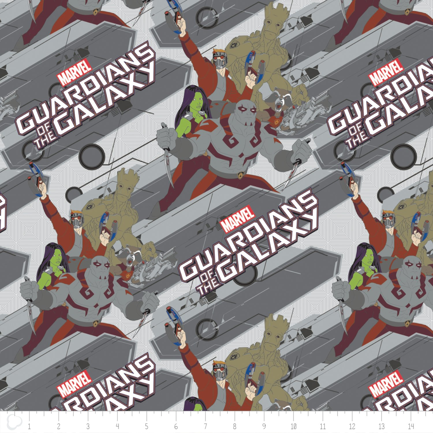 Camelot Fabrics  - Marvel Comics - Guardians of the Galaxy - Characters