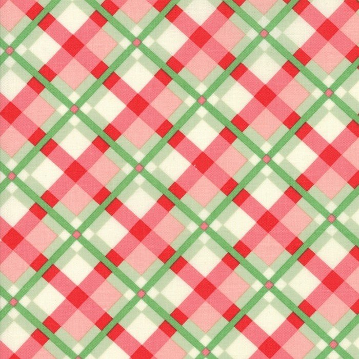 Moda - Urban Chiks - Swell Christmas - Red and Green