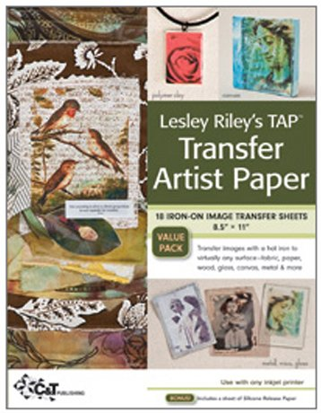 Lesley Riley's TAP - Transfer Art Paper
