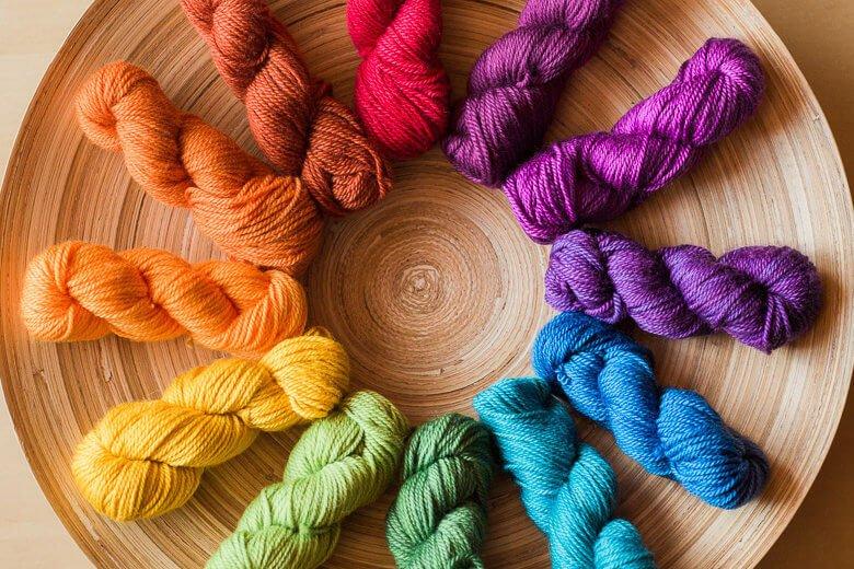 Sweet Georgia - Prismatic - Mini-Mini Yarn Set