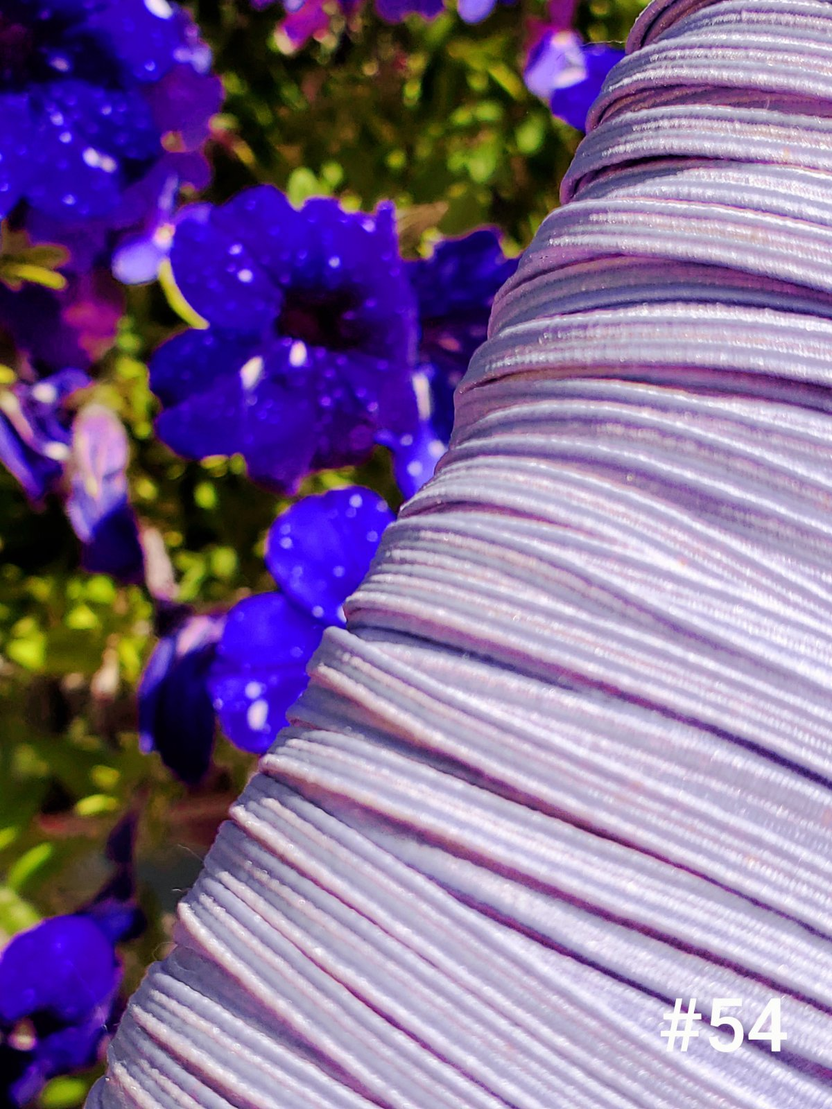 Cindy-rellas 1/8 inch (3mm) Elastic - Light Purple