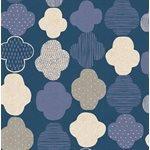 Cotton + Steel - Mori No Tomodachi  Dark Blue Canvas