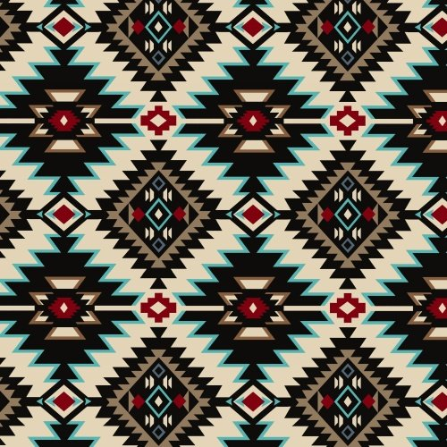 Baum Textile Mills - Shadow Diamond - Winter Fleece