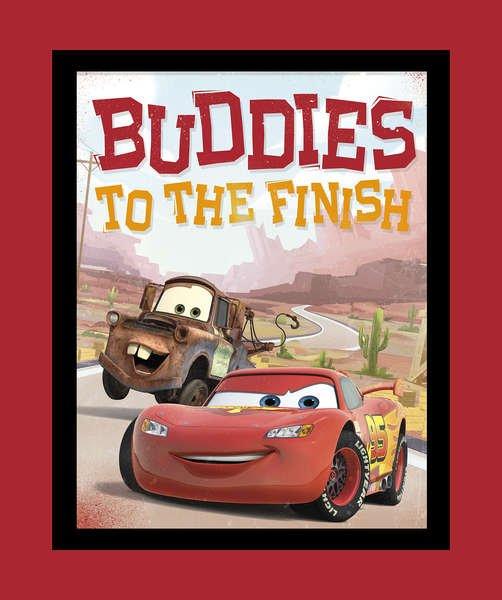 Springs Creative - Disney Cars - Buddies to the Finish Panel