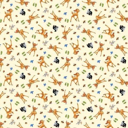 Springs Creative - Disney Bambi & Friends - Allover