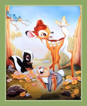 Springs Creative - Disney Bambi & Friends - Friends Panel