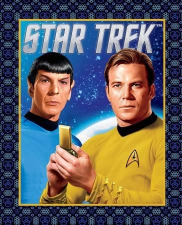 Camelot Fabrics - Multi Star Trek Spock & Kirk Panel