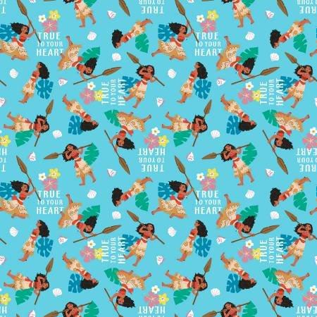 Springs Creative  - Disney Moana & Friends - True to your Heart