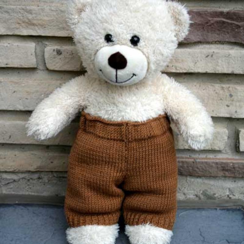 Knitca - Teddy Dandy City: Dandy Pants Knitting Pattern
