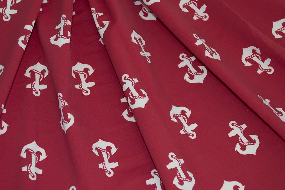 Retro Nation - Nylon Spandex Anchor Red/Ivory