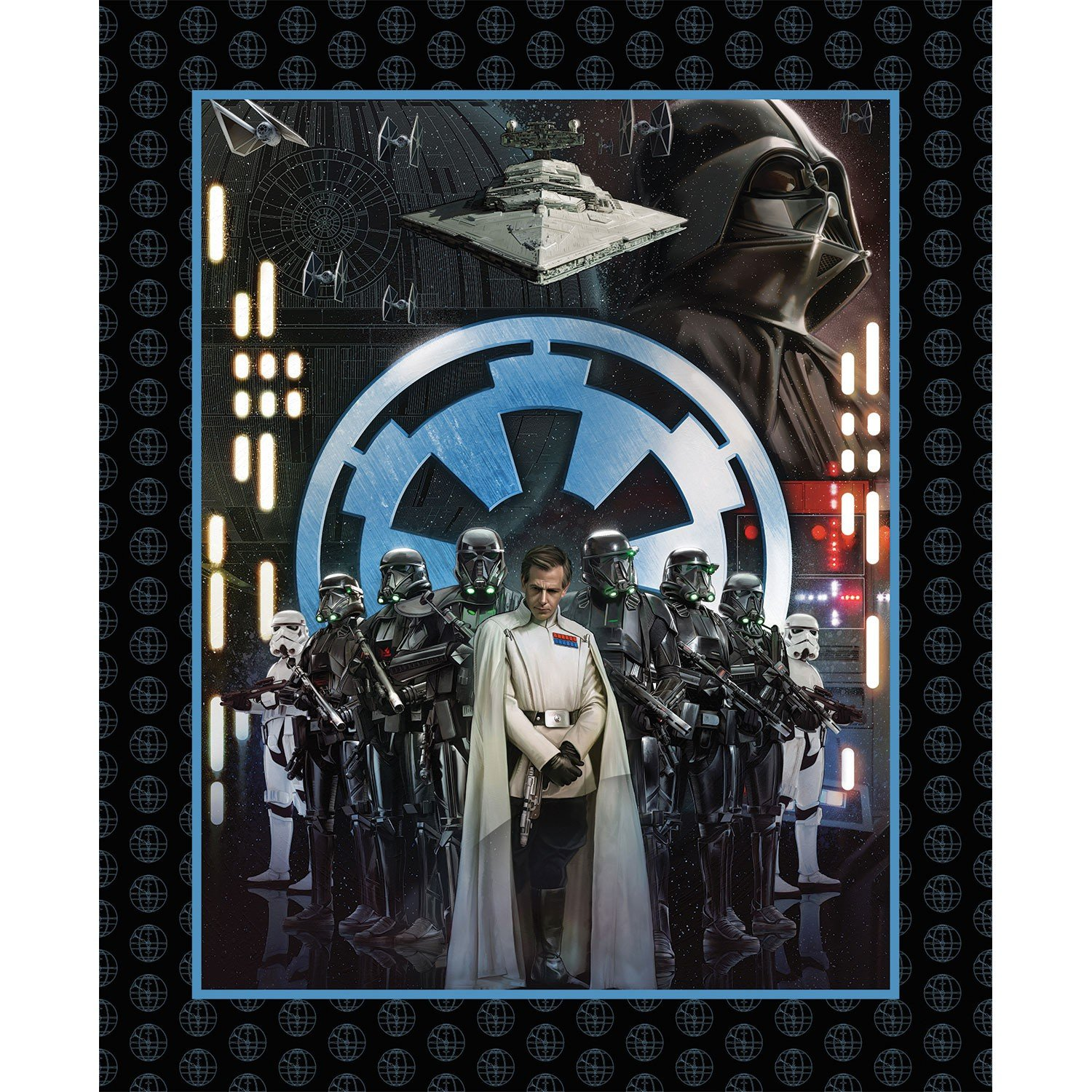 Camelot Fabrics - Star Wars - Roque One Villians Panel