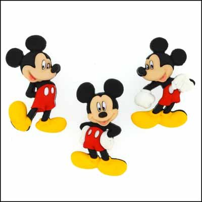 Dress It Up Buttons - Disney - Mickey Mouse