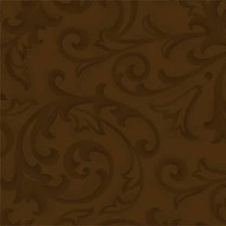 Henry Glass & Co. - 108 Wide Quilt Backing - Baroque - Brown
