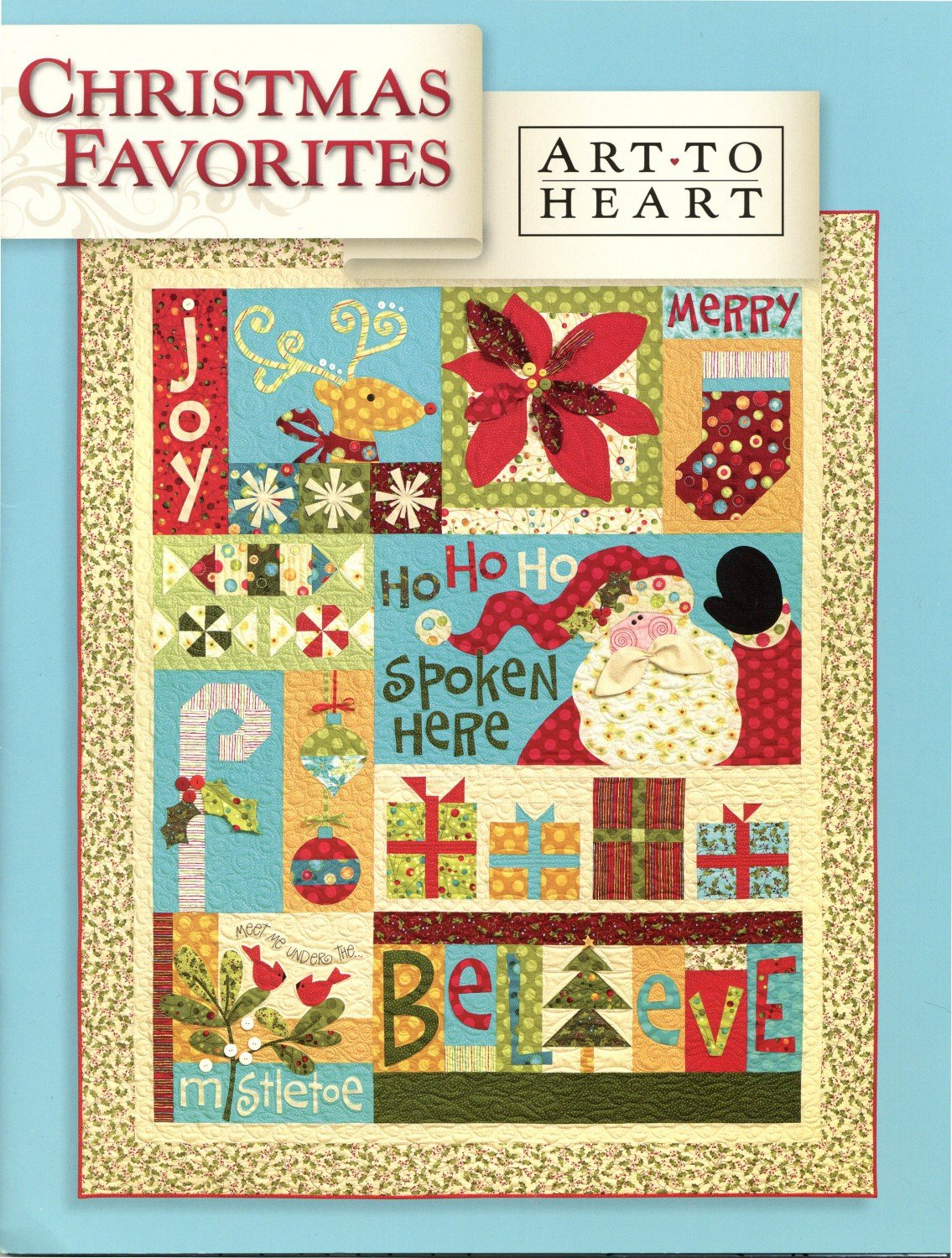 Art to Heart - Nancy Halvorsen - Christmas Favorites Book