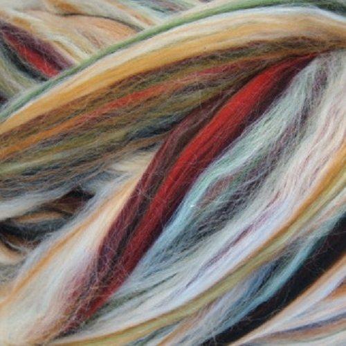 Ashland Bay - Multi-Coloured Merino/Tussah - Autumn