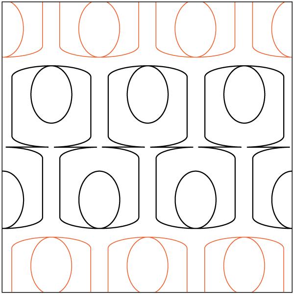 Urban Elementz- Pantograph - Christmas Holly Panto/Corner Set (5 wide pattern)10