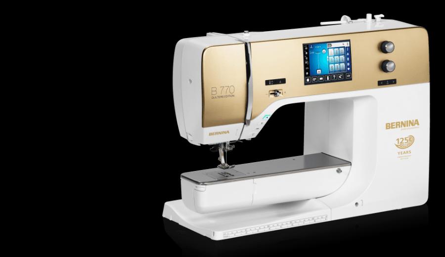 Bernina 770QE - Sewing Machine Only -125th Anniversary Edition