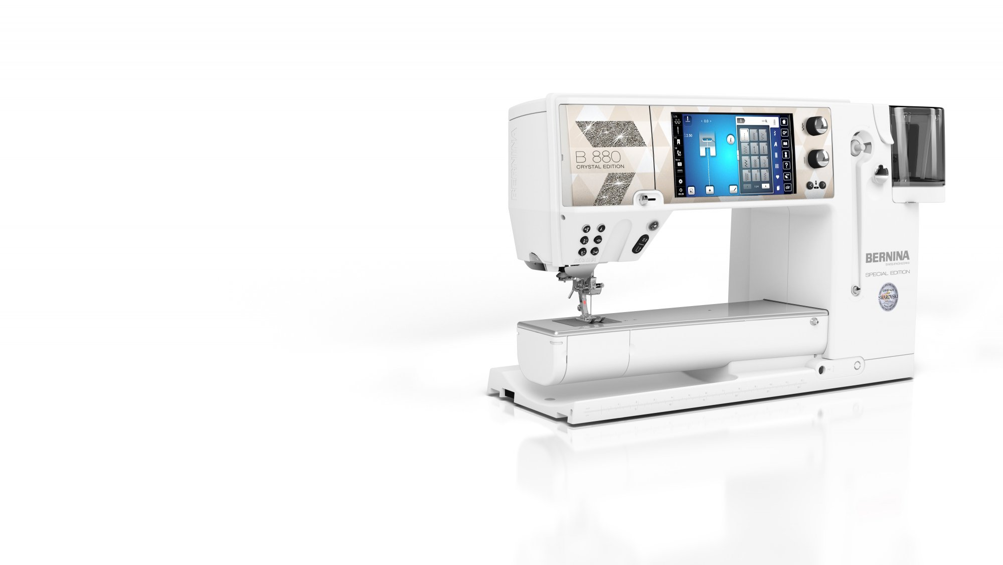 880 Plus Bernina - Crystal Edition with Gift Package