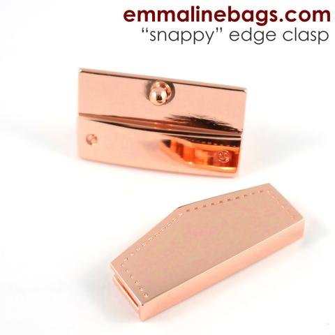Emmaline - Snappy Edge Clasp in Copper Finish